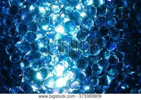 Blue Glass Balls Texture