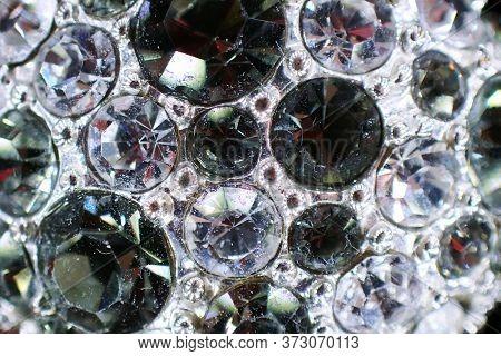 Plastic Diamonds Texture As Very Nice Luxury Background