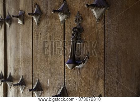 Village Wooden Door