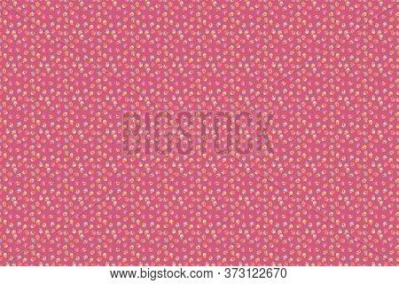Raster Illustration. Muffin. Seamless.cupcake Raster Pattern. Cupcake Pattern Background. Happy Birt