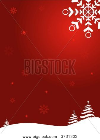 Abstract Christmas Image