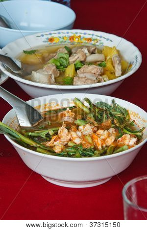 Sour Soup Made Of Tamarind Paste