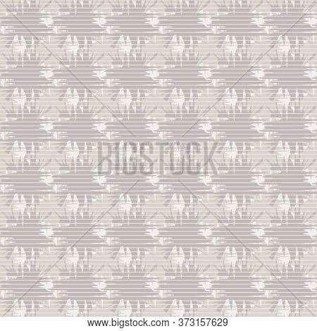 Grey Textured Abstract Seamless Vector Pattern. Basic Surface Print Design For Fabrics, Backgrounds,