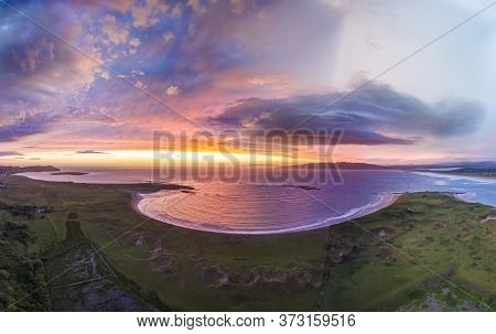 Amazing Sunset At Portnoo In County Donegal - Ireland