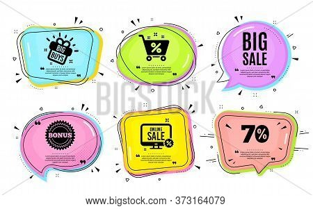Big Sale. Big Buys, Online Shopping. Special Offer Price Sign. Advertising Discounts Symbol. Quotati