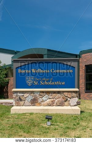 Burns Wellness Commons On The Campus Of The College Of St. Scholastica
