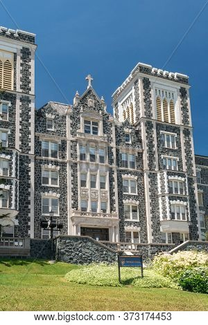 Tower Hall At The College Of St. Scholastica