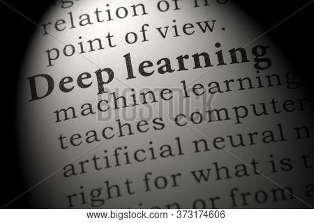 Fake Dictionary, Dictionary Definition Of Word Deep Learning.