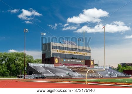 Malosky Stadium And Griggs Field On The Campus Of The University Of Minnesota-duluth