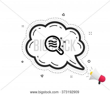 Skin Condition Icon. Quote Speech Bubble. Search Magnifier Sign. Quotation Marks. Classic Skin Condi