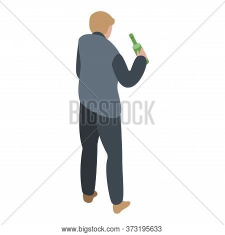 Sommelier Icon. Isometric Of Sommelier Vector Icon For Web Design Isolated On White Background