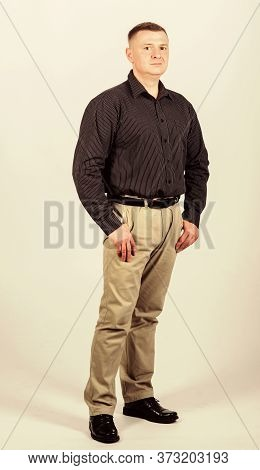 Male Fashion Store. Businessman Lecturer Manager Office Worker. Formal Style Clothing. Corporate And