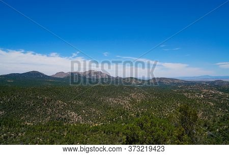 The Views From The Top Of The Trail On Prescott, Arizonas Thumb Butte. In The Distance You Can See G