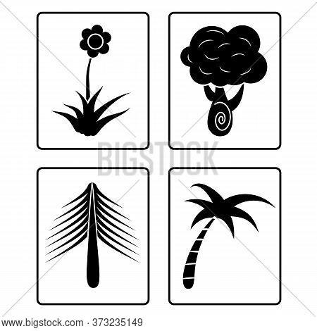 Tree Icon Vector Isolated Illustration On White Background