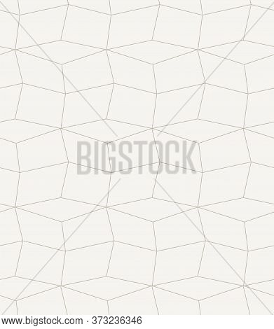 Continuous Ramadan Vector Triangular Repeat Pattern. Repetitive Geometric Graphic, Cell Pattern Text