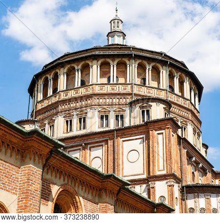Church Santa Maria delle Grazie in Milan, Italy. The Home of