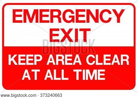 04-emergency Exit, Fire Extinguisher Sign
