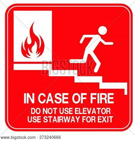 05-emergency Exit, Fire Extinguisher Sign