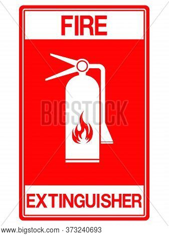 10-emergency Exit, Fire Extinguisher Sign