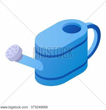 Watering Can Icon. Isometric Of Watering Can Vector Icon For Web Design Isolated On White Background