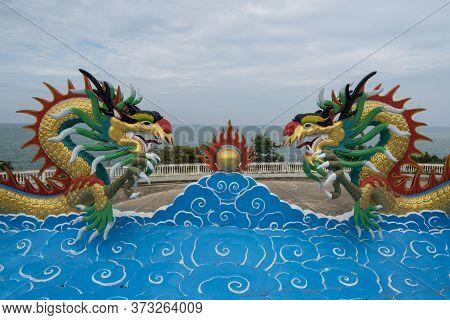 Asia Thailand Hua Hin Wat Khao Takiap