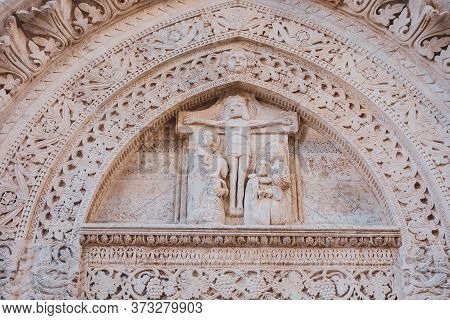 Basilica Cathedral Church Of St. Maria Assunta. Conversano. Puglia. Italy.