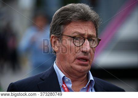 Monza, Italy. 6-8 September 2019. Formula 1 Grand Prix Of Italy.  Louis Carey Camilleri Ceo Of Ferra