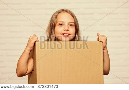 I Am Here. Moving Concept. Move To New House. Rent Concept. Repair Annd Relocate. Happy Childhood. C