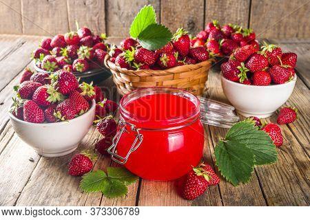 Strawberry Jelly Jam