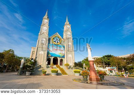 Cathedral Of The Diocese In Ba Ria Vietnam