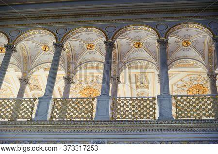 St. Petersburg, Russia - 19.10.2010 Pavilion Hall, Hermitage Museum In St. Petersburg, Russia, Hermi