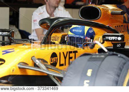 Monza, Italy. 6-8 September 2019. Formula 1 Grand Prix Of Italy. Lando Norris Of Mclaren F1 Team In