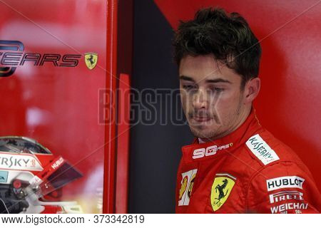 Monza, Italy. 7th September 2019. Formula 1 Grand Prix Of Italy. Charles Leclerc Of Scuderia Ferrari