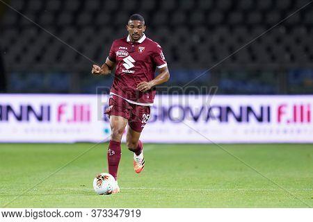Torino (italy) 23th June 2020. Italian Serie A . Torino Fc Vs Udinese Calcio. Gleison Bremer Of Tori