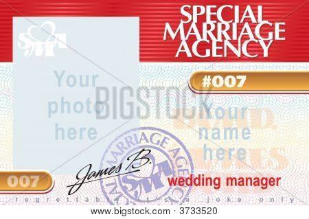 Special Marriage Agency 007