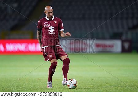 Torino (italy) 23th June 2020. Italian Serie A . Torino Fc Vs Udinese Calcio. Simone Zaza Of Torino