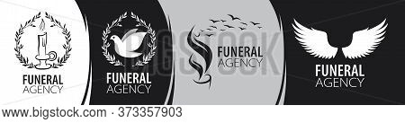 Vector Logo Of Funeral And Memorial Services