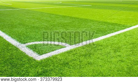 Indoor Soccer,soccer Field Artificial Grass,copy Space