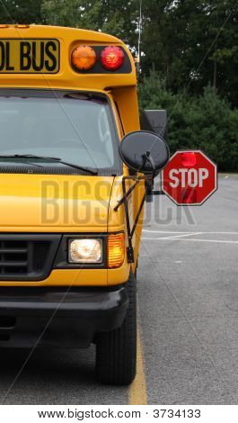 Half Of School Bus