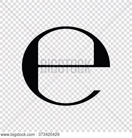 Estimated, E Mark Symbol Template For Your Design
