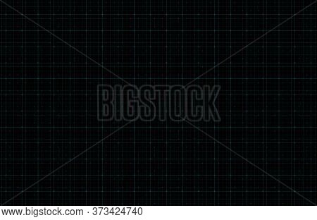 Futuristic Digital Dark Blue Background With Grid And Particles. Design For Science Theme, Artificia
