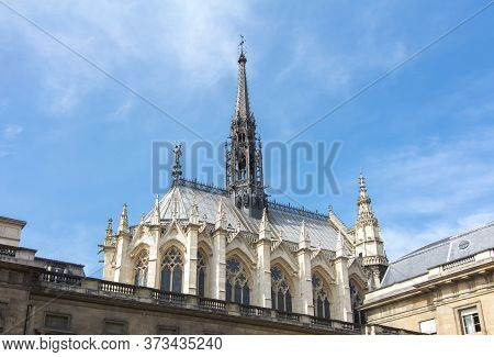 Holy Chapel (sainte Chapelle) In Paris, France