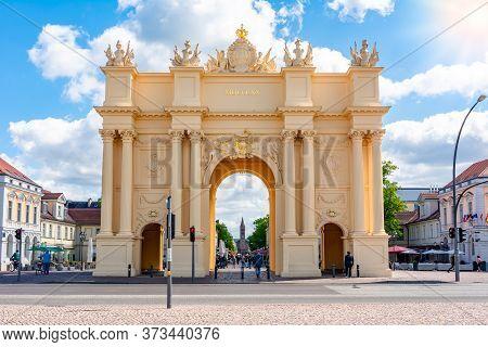 Brandenburg Gate (brandenburger Tor) In Potsdam, Germany