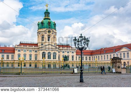 Charlottenburg Palace And Gardens In Berlin, Germany