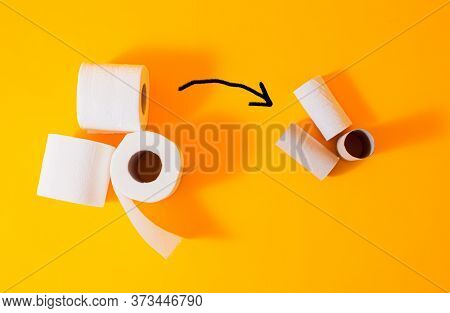 Toilet Paper Deficit During Quarantine - Before And After