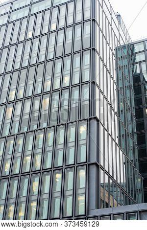 Frankfurt, Germany - January 22, 2019:Commercial finance building in Frankfurt, Germany.