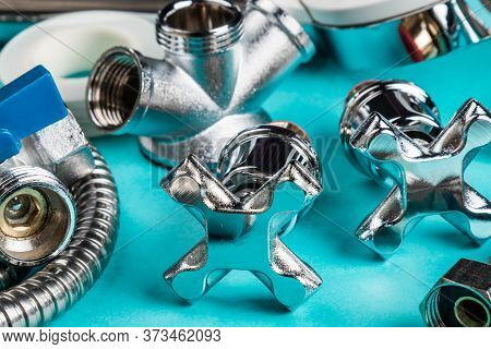 Different Plumbing Fixtures For Use In The Bathroom