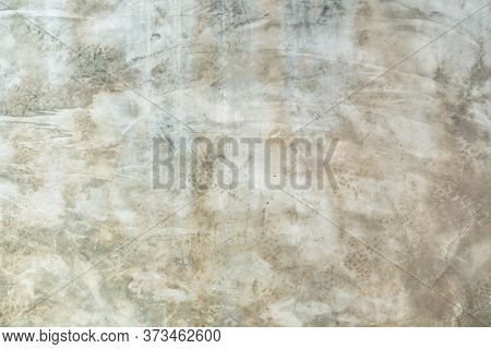 Cement Wall Background Abstract Gray Concrete Texture For Interior Design, White Grunge Cement Paint