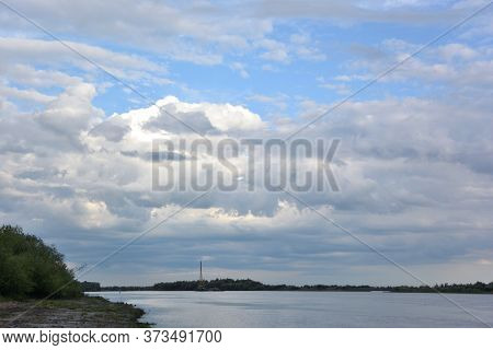 Evening On The Irtysh River, Omsk Region, Siberia, Russia