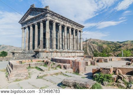 View Of Hellenic-style Temple Garni In Armenia